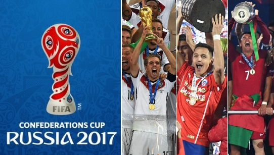 Image result for confederation cup 2017 team
