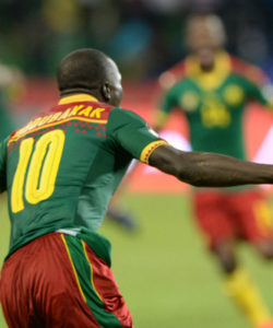 Cameroon came from behind to win their fifth Nations Cup