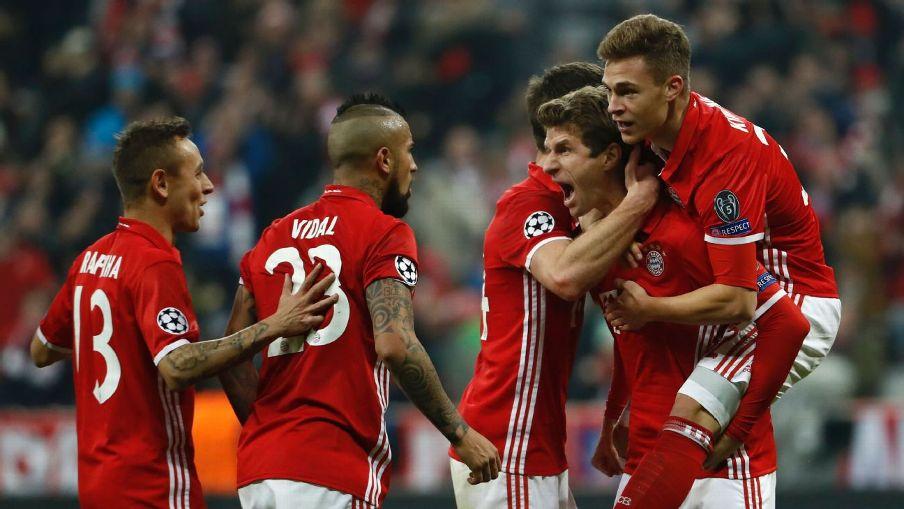 Bayern Munich thrash Arsenal 5-1