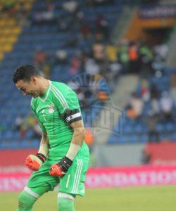 Essam El Hadary saved two Burkina Faso penalties to take Egypt