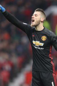 Jose Mourinho has indicated that David de Gea