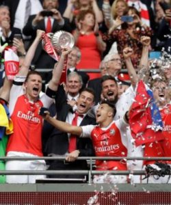 Arsenal beat Chelsea to win the FA cup