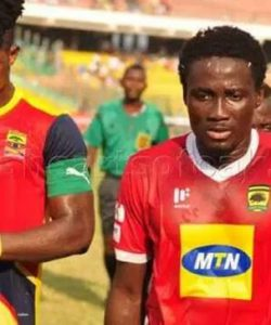 In form Hearts of Oak will face division one side Kotoku Royals