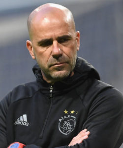 Ajax coach Peter Bosz