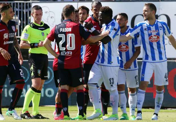 Muntari Punishment To Stand For Walking Off Due To Racial Abuse