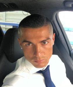 Cristiano Ronaldo sported