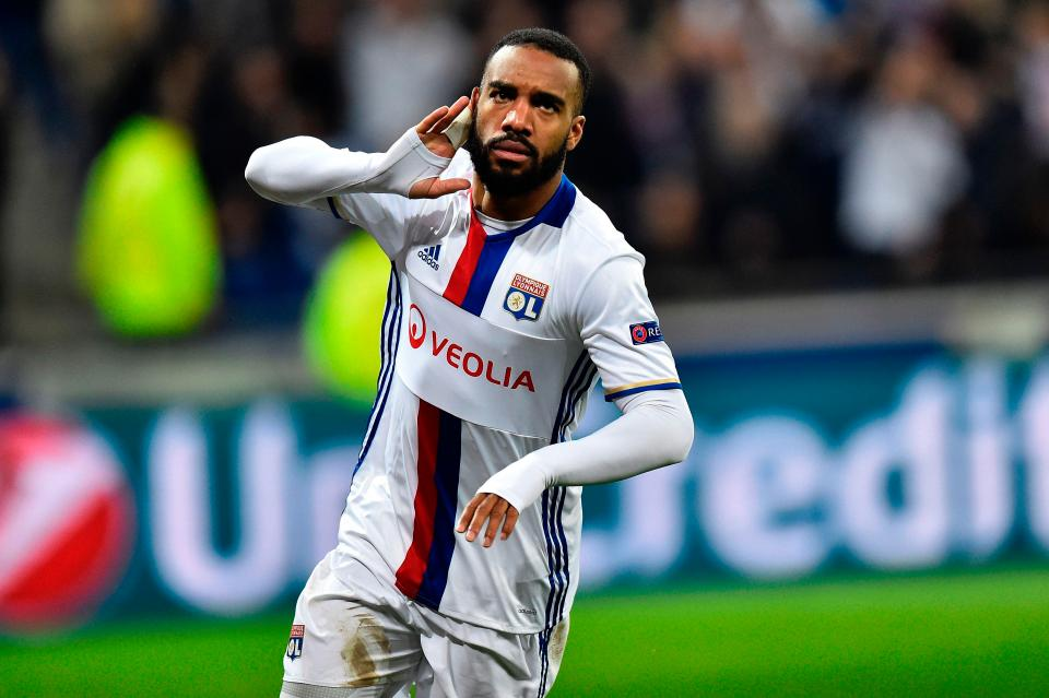 Lyon Ask Arsenal To Pay £56.9m In Order To Sign Lacazette