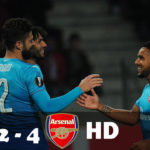 Olivier Giroud gets 100th Arsenal goal in Europa League win at Borisov
