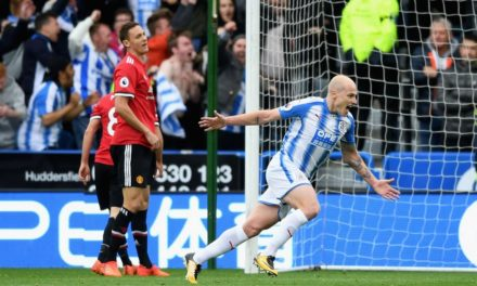 Man Utd shocked by Huddersfield, City go 5 points clear, Chelsea beat Watford