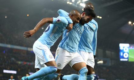 Man City 4-1 Tottenham: Unbeaten leaders breeze past Spurs