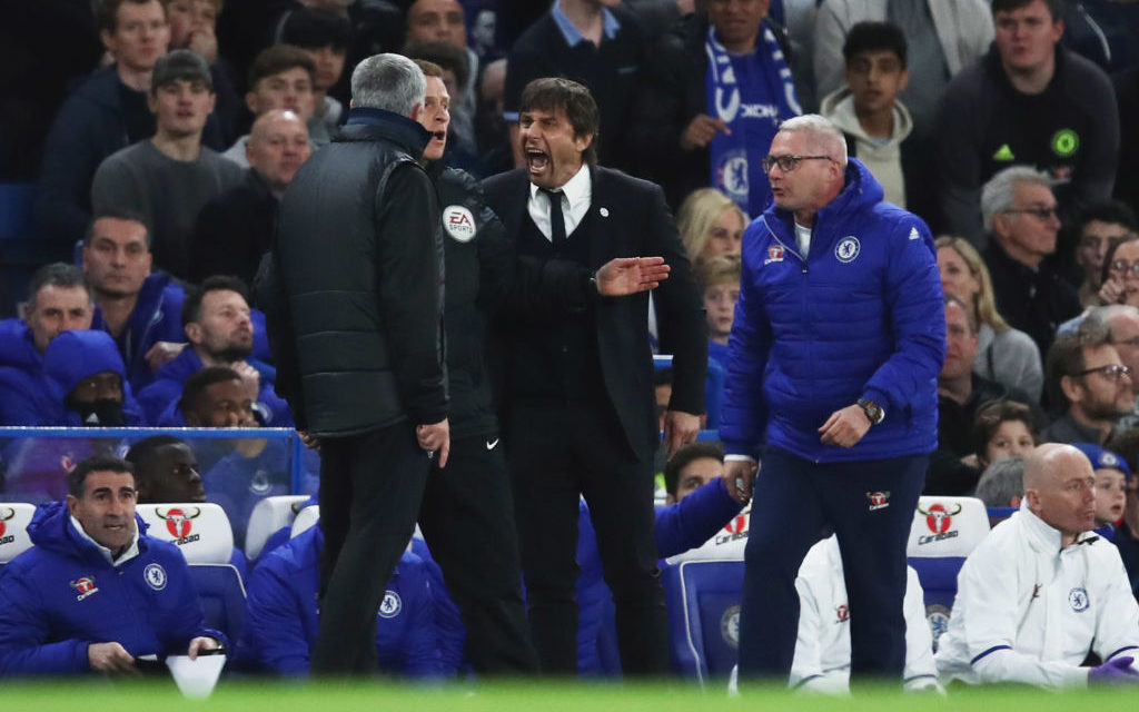 """You are a little man"" – Chelsea boss Antonio Conte tells Jose Mourinho after match-fixing comment"