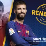 Gerard Pique agrees long-term Barcelona contract until 2022