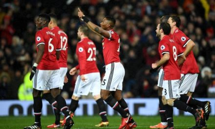 Manchester United 3-0 Stoke City: Paul Lambert watches on as United breeze to victory