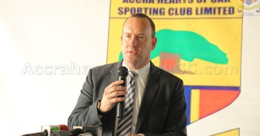 Hearts of Oak CEO Mark Noonan resigns