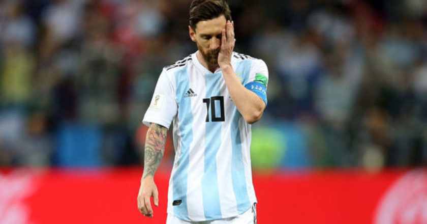 Argentina's loss to Croatia