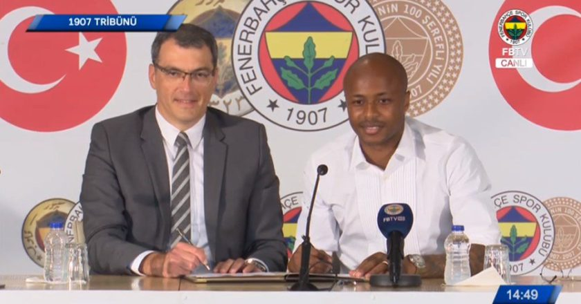 Andre Ayew announce Fenerbahce departure; set to return to Swansea City