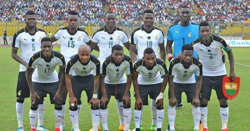AFCON 2019: Ghana starting lineup against Cameroon; Kwadwo and Baba included