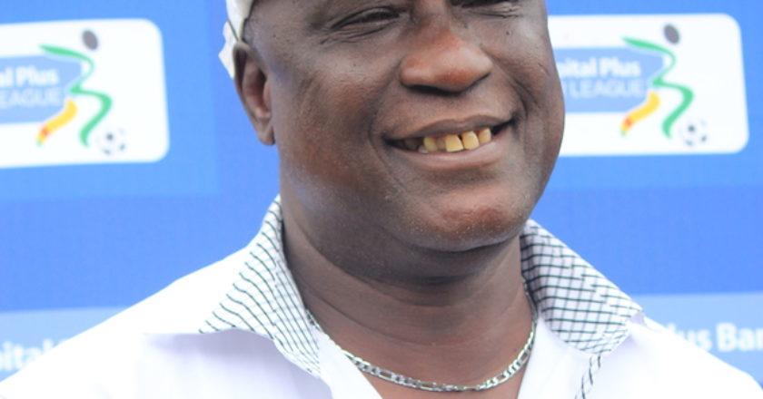 The Black Queens coach Bashir Hayford