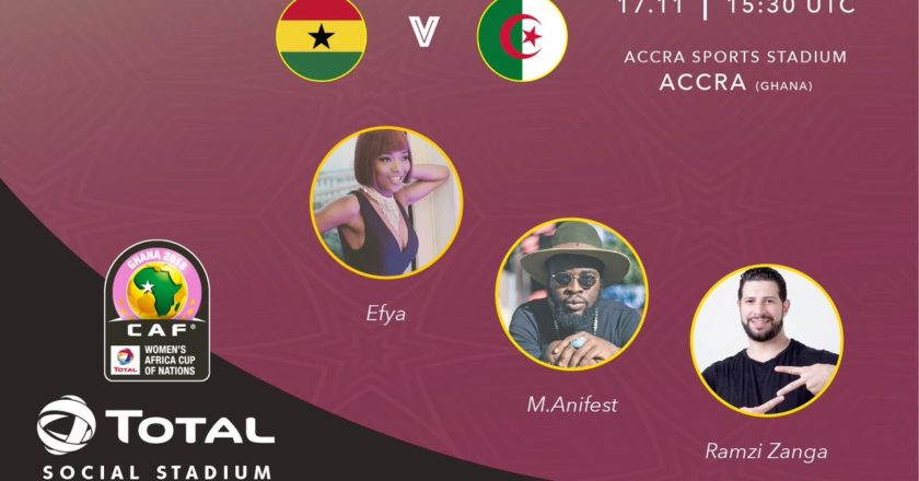Efya and Manifest to function in opening ceremony