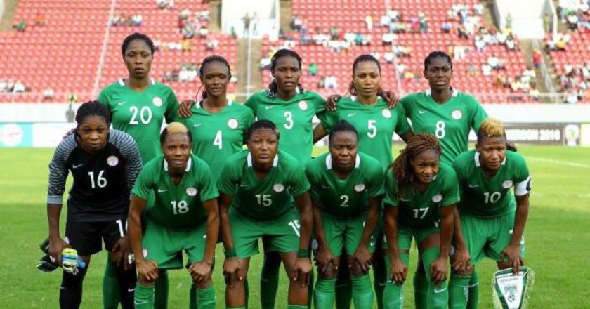 The Super Falcons of Nigeria have arrived in Ghana