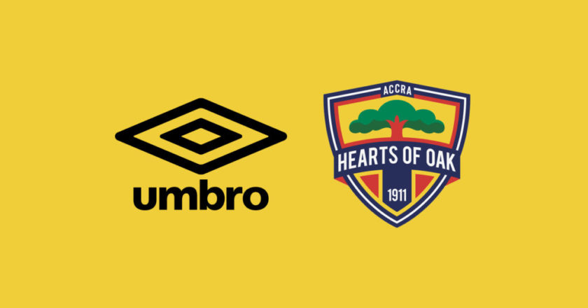 UMBRO to supply 6,000 replica jerseys to Hearts of Oak next month