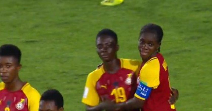 The Black Maidens of Ghana thrashed hosts Uruguay