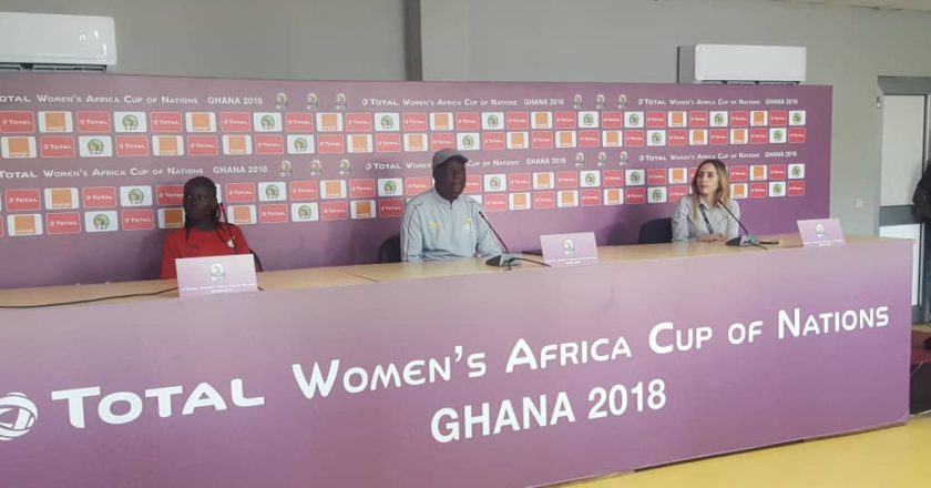 Black Queens Coach Bashir Hayford