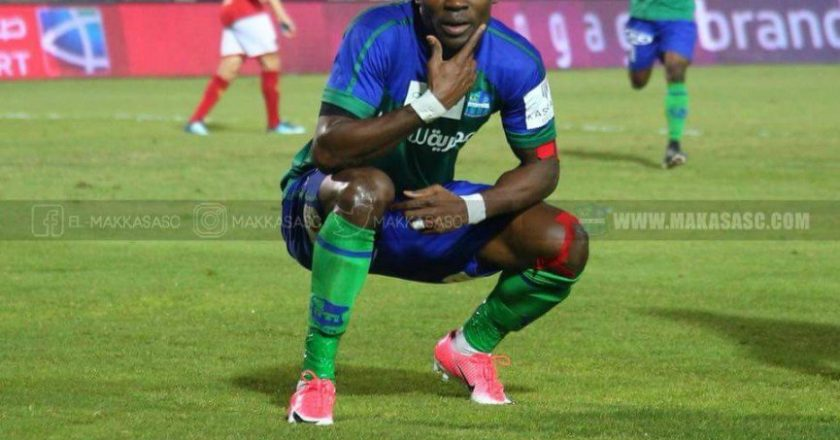 Ghanaian player John Antwi achieved a great feat on Sunday