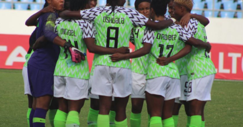 The Nigerian Super Falcons booked a place in the final