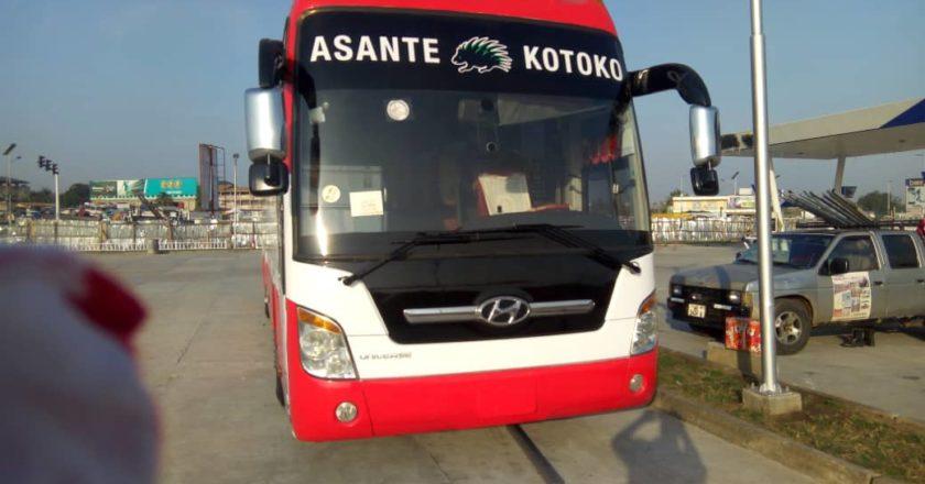 Asante Kotoko handed new bus