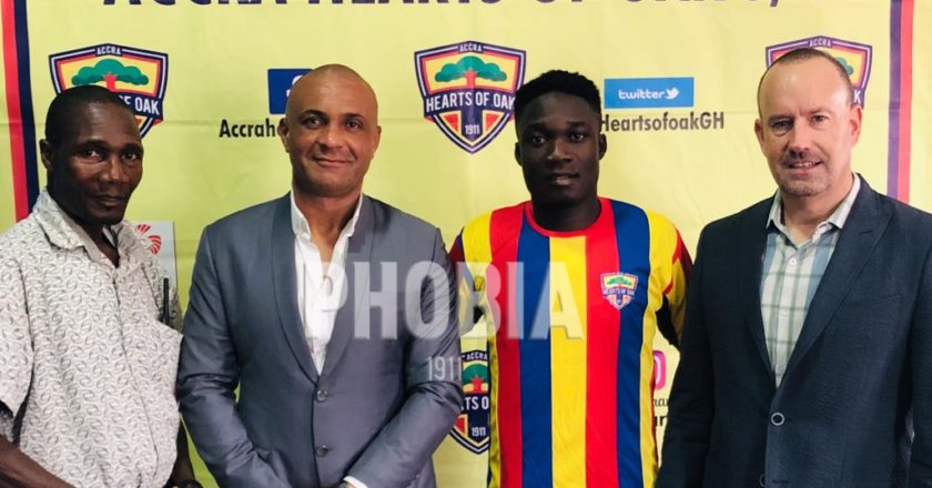 Hearts of Oak insists Dominic Eshun's signing wasn't illegal