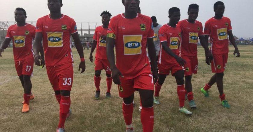 Asante Kotoko Beat Baffour Soccer Academy in friendly