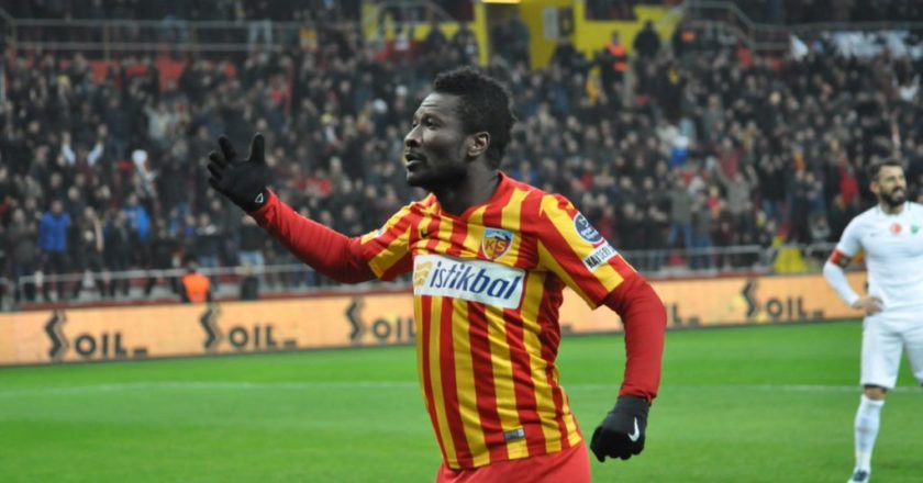 Super sub Asamoah Gyan grabs win for Kayserispor
