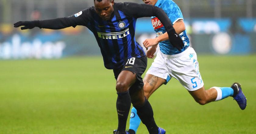 Kwadwo Asamoah features as Inter Milan beat Napoli