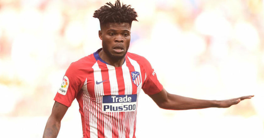 Thomas Partey clarifies comments about being 'unhappy' at Atletico Madrid