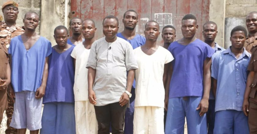 Ghana prisons inmate cry out for TV set to watch football matches
