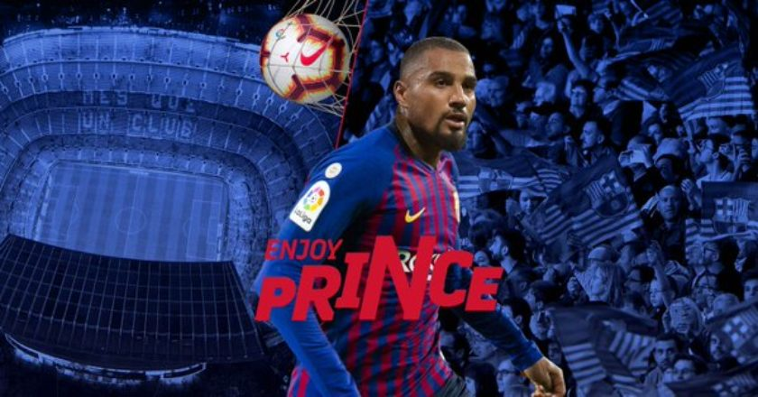 BREAKING: Kevin-Prince Boateng move to Barcelona confirmed