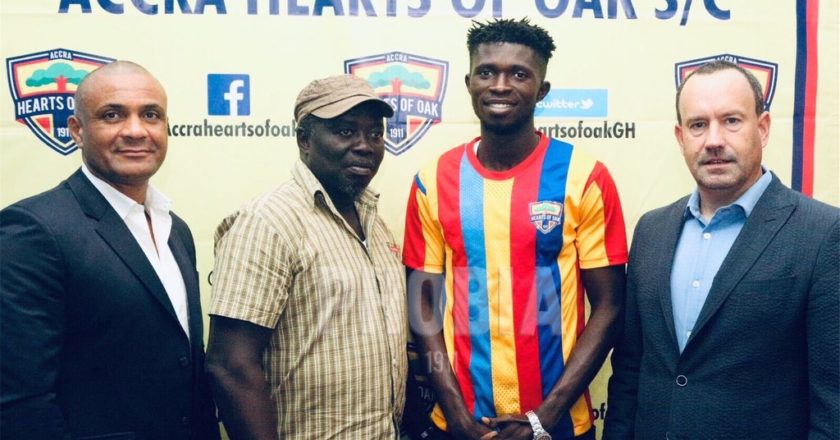 Hearts Of Oak sign Charles McCarthy from Elmina Sharks