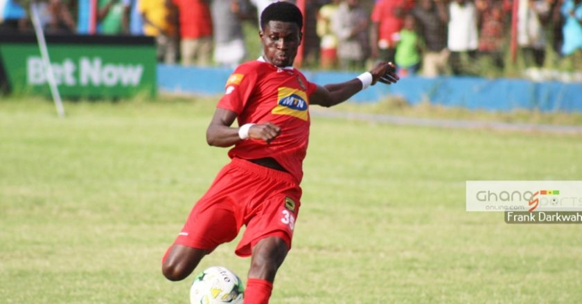 Kotoko defender Agyeman Badu calls for support ahead of Zesco clash