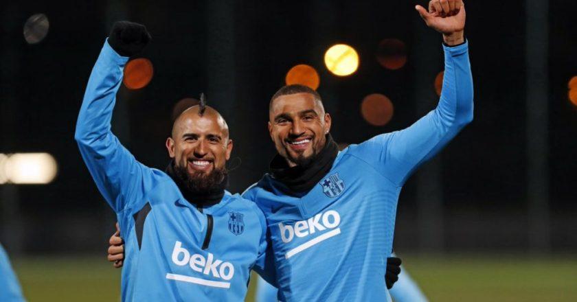 Kevin-Prince Boateng named in Barcelona squad for Sevilla clash