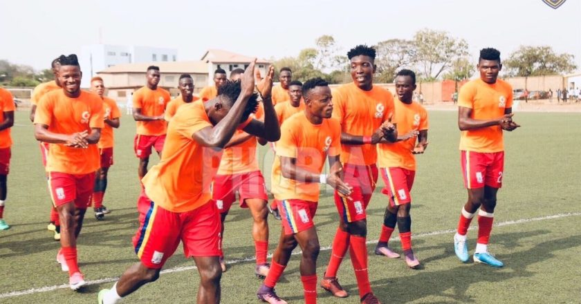 Hearts Of Oak thrash Sekondi Hasaacas in friendly game