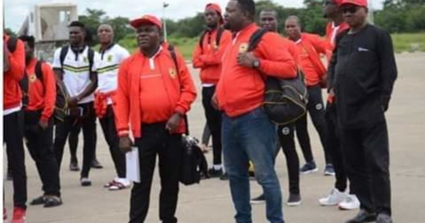 Asante Kotoko arrive in Zambia ahead of Nkana clash