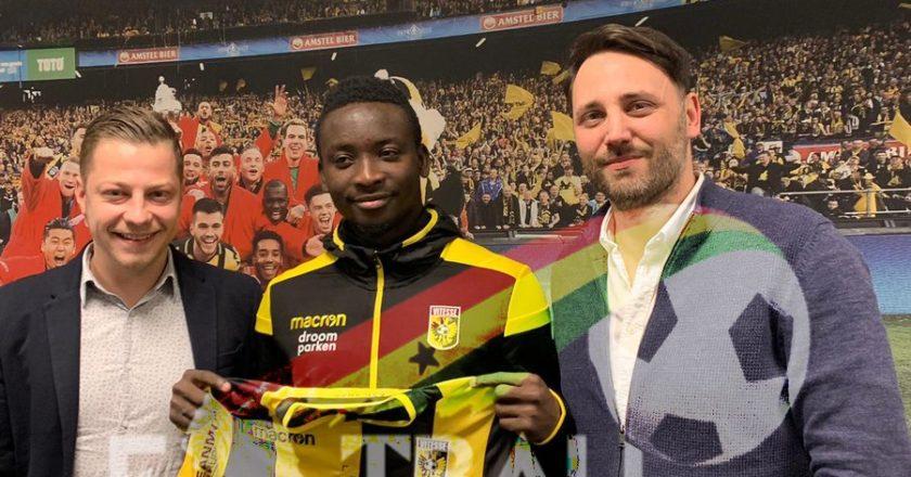 Ghanaian striker Dauda Mohammed joins Vitesse Arnhem