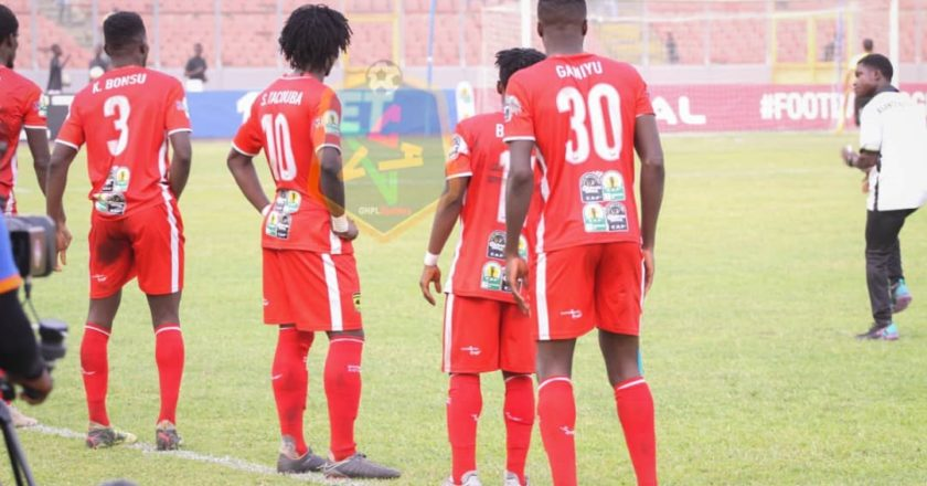 Asante Kotoko injury/team news ahead of RTU clash; three players out