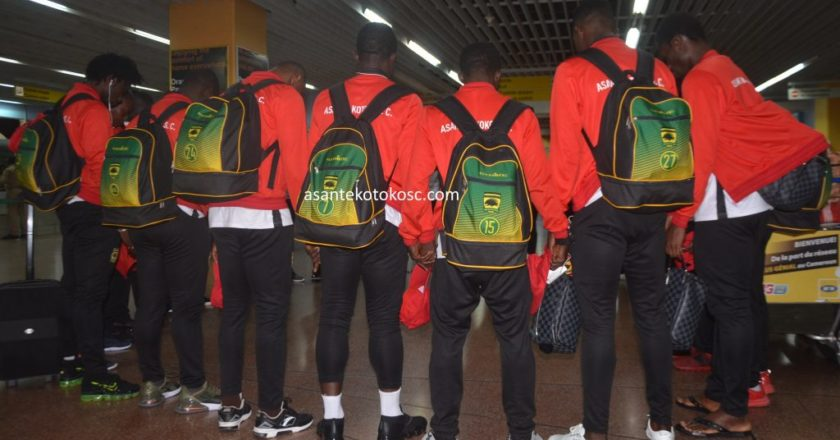 CAF CC: Asante Kotoko in Sudan for match against Al Hilal