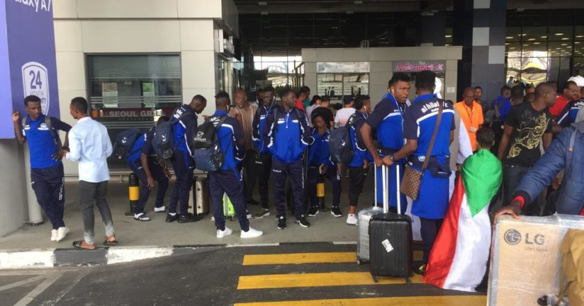 Al Hilal arrive to face Kotoko in CAF Confederation Cup match