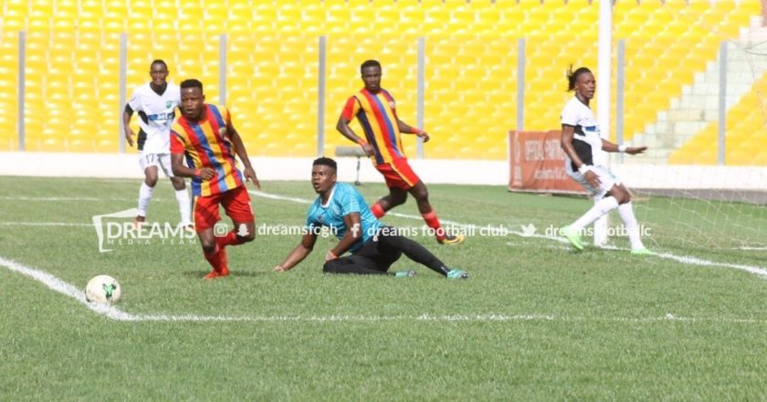 Special Competition: Kojo Obeng strike give Hearts deserved win
