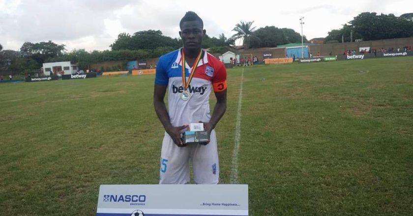 Asante Kotoko interested in Liberty Profs midfielder Simon Zibo