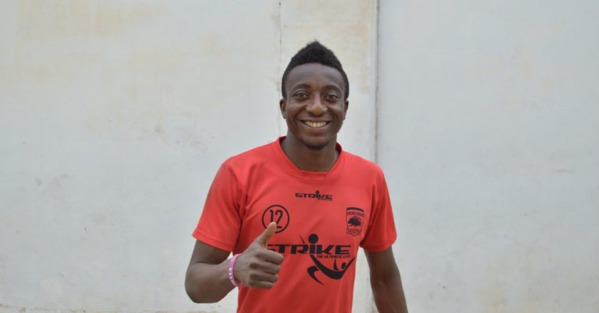 I started my career as a striker - Felix Annan