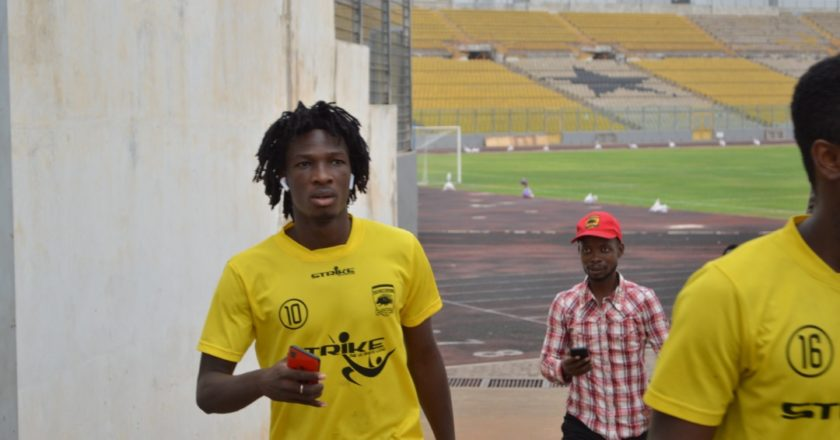 Asante Kotoko Friday training updates ahead of Nkana game